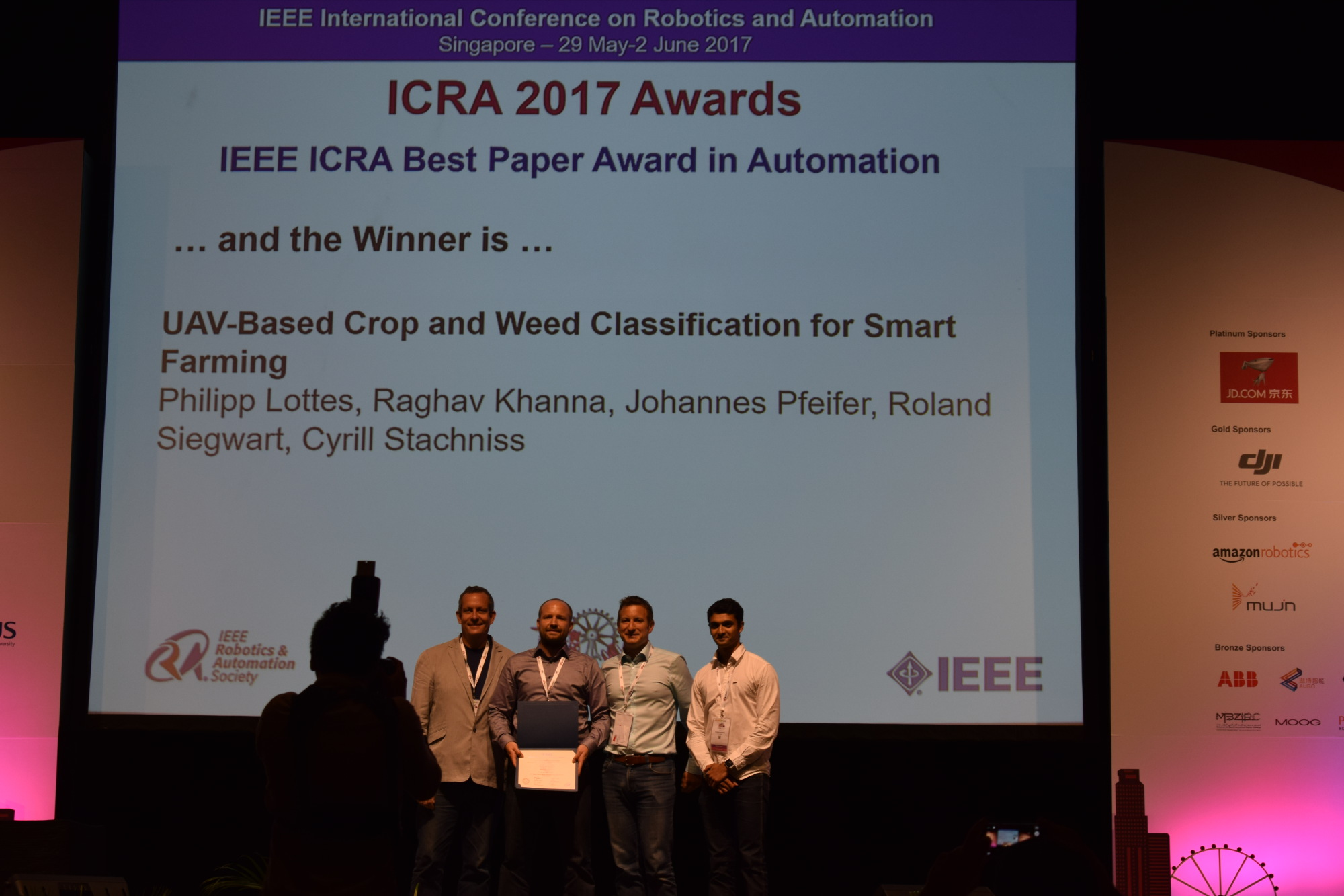 2017 06 Uav Based Crop And Weed Classification For Smart Farming