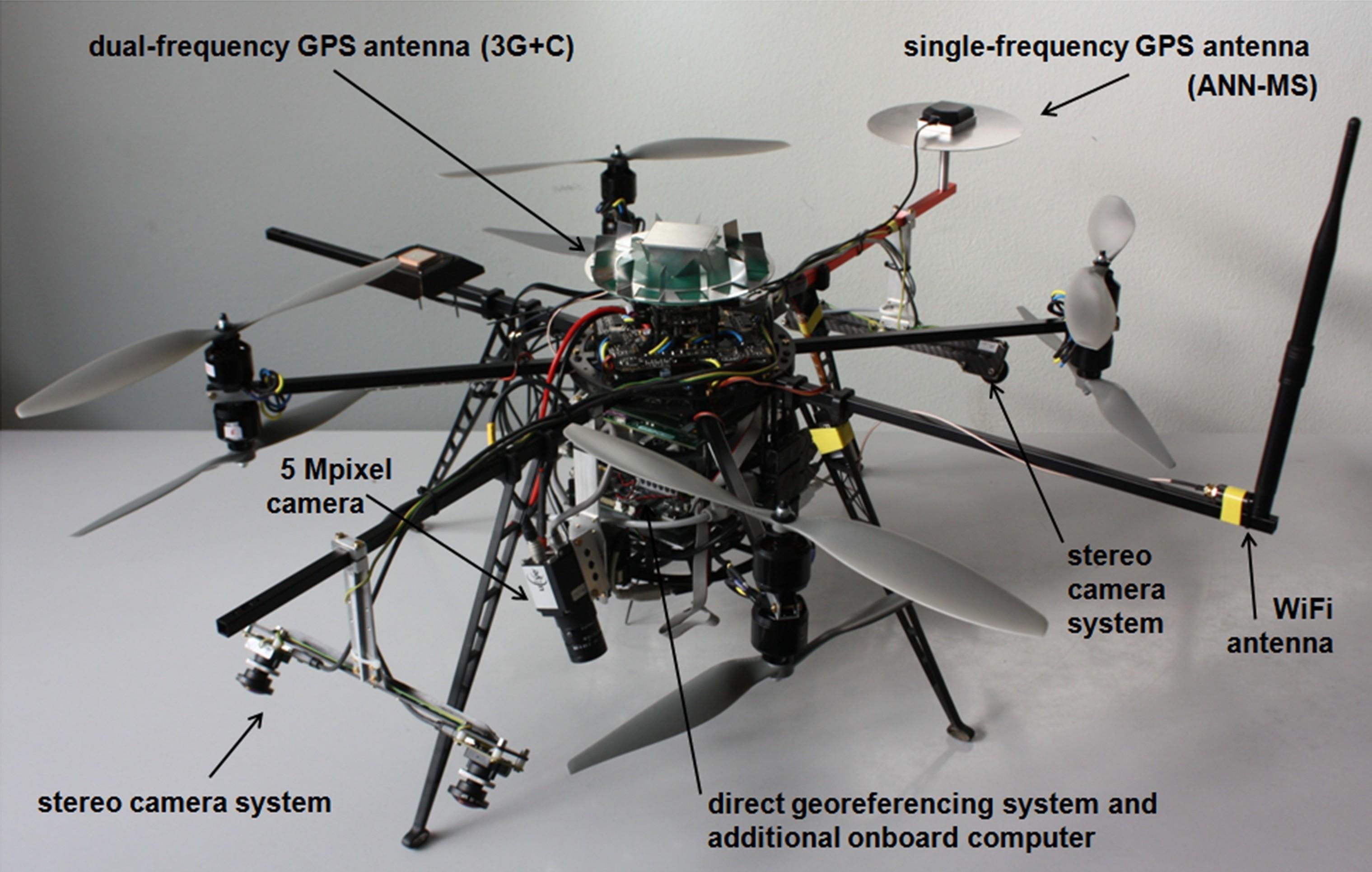 The UAV developed in MoD.